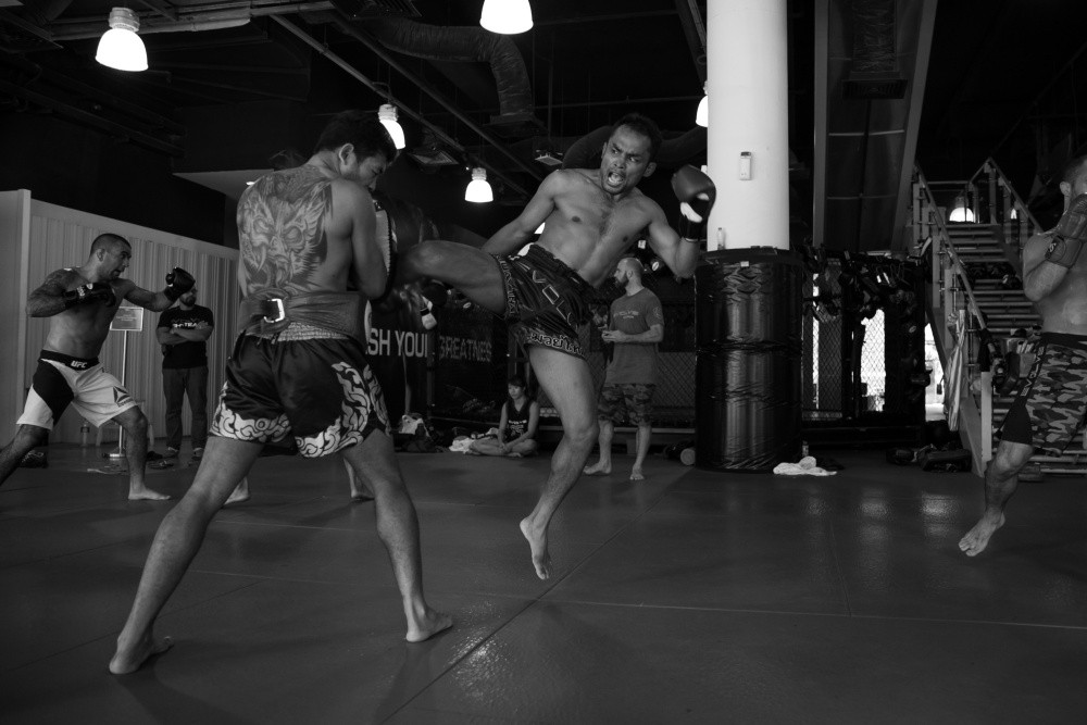 "As martial artists, it is comforting for us to stick to our strengths, especially during sparring. Unfortunately, this notion is holding us back from achieving our full potential as martial artists. The more we work on our weaknesses, the faster they will eventually become our strengths. If you get tapped out because you weren't playing your a-game, don't feel bad. It's all part of a learning process that will make you a better martial artist in the end.   Remember, even the most talented World Champions understand that each training day must be treated as a learning experience. As the legendary Bruce Lee once said, ""Life itself is your teacher and you are in a state of constant learning."" It is never too late to become the best martial artist you can be so don't put a deadline on your success. Go on and train!"