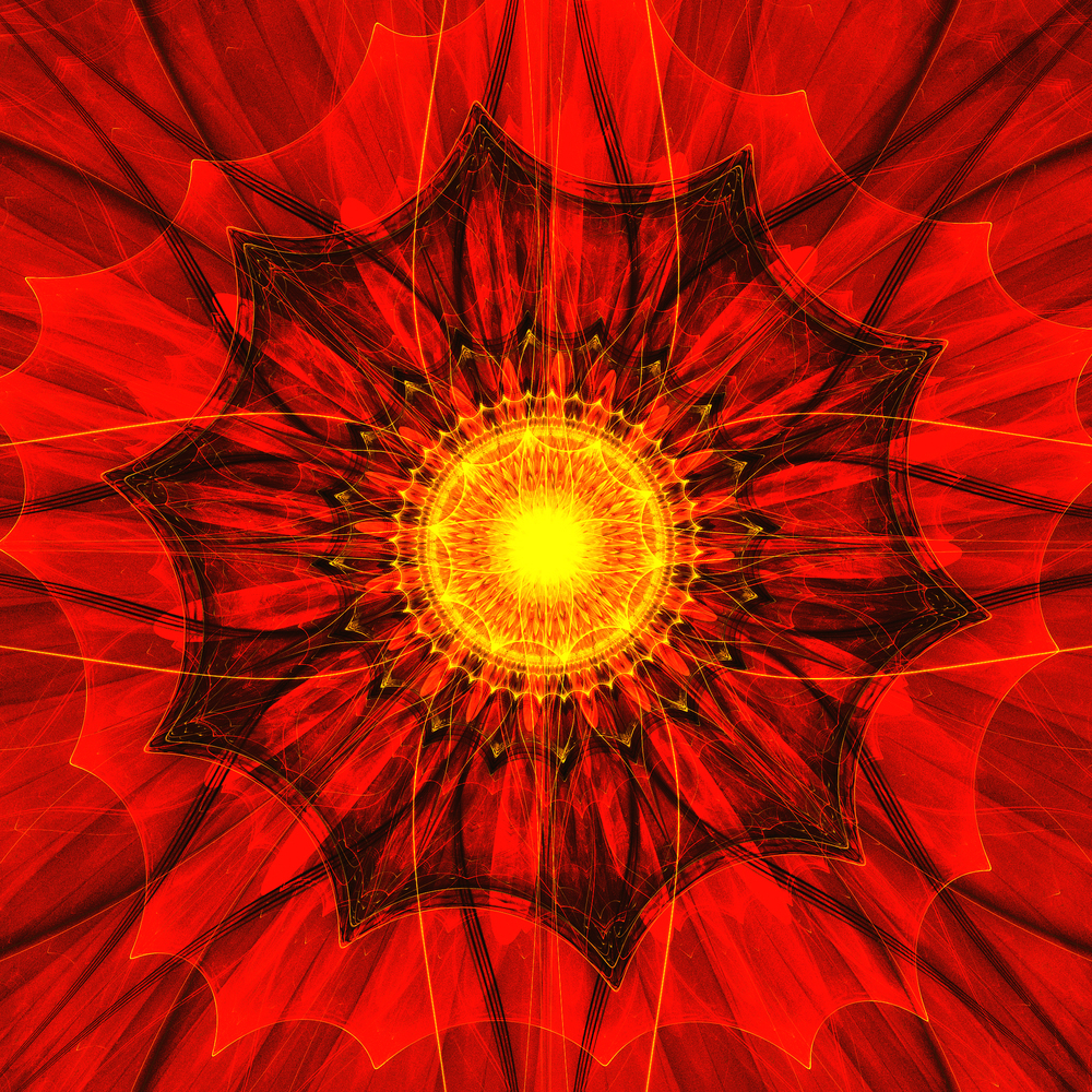 Fractality [#124] - Red