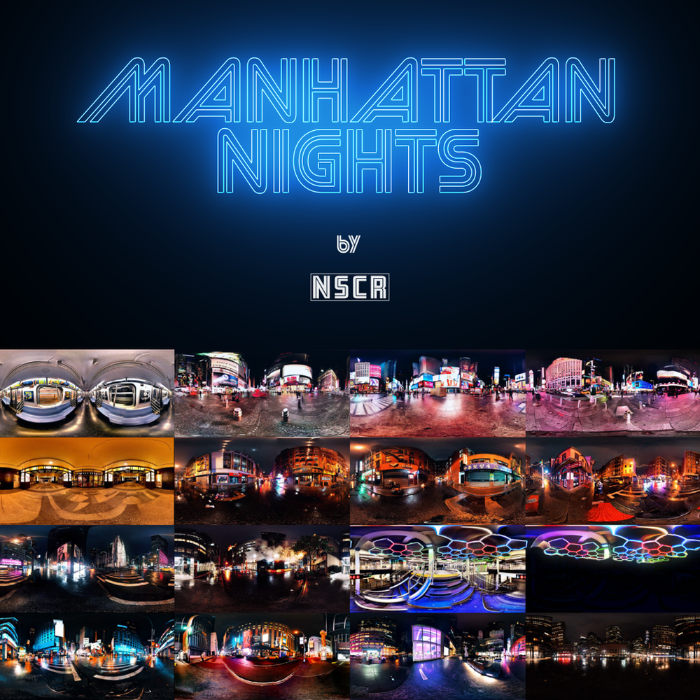 HDRI collection MANHATTAN NIGHTS VOL. 1