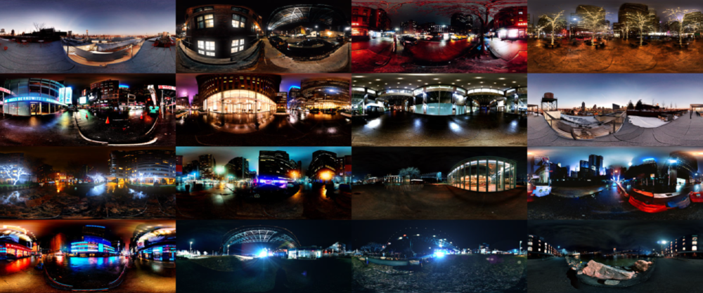 HDRI collection Manhattan Nights Vol. 2 by nscr
