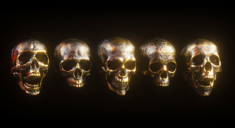 Skull Model Pack by Billelis