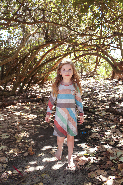Knit dress from maxi skirt