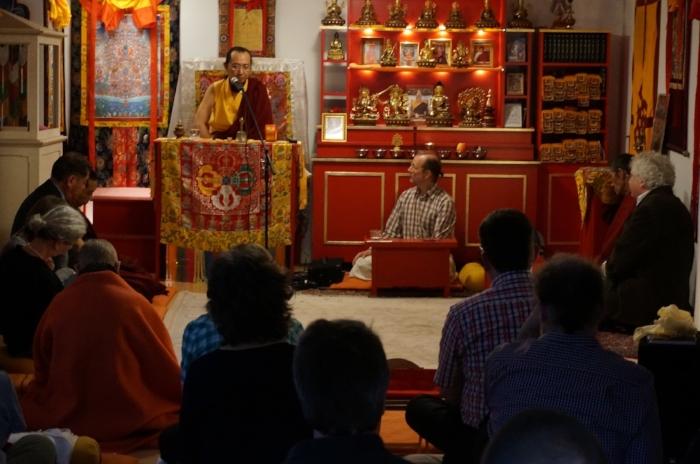 Besuch von Ratna Vajra bei Sakya Dechen Ling
