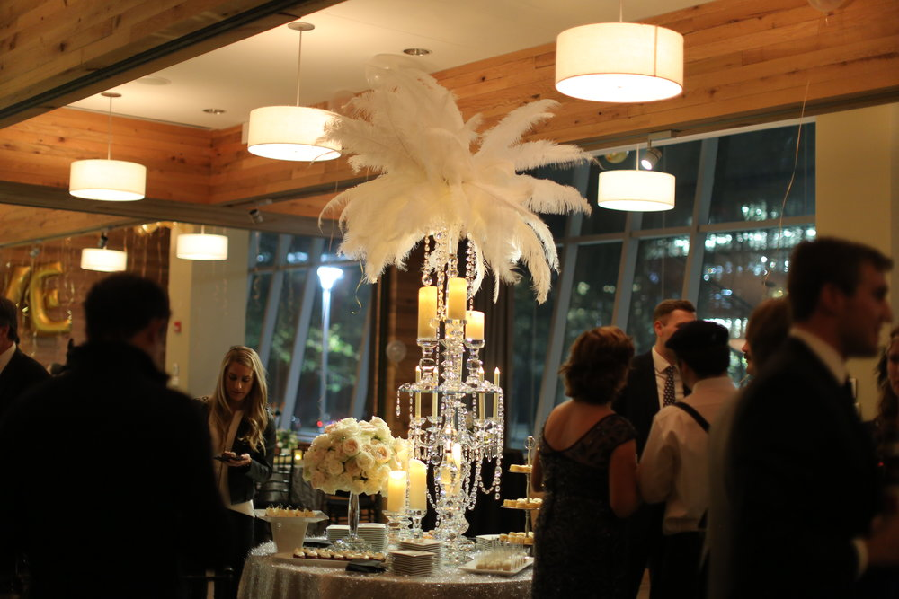 Sara Kovel Events Catalyst Restaurant Engagement Party Roaring 20's