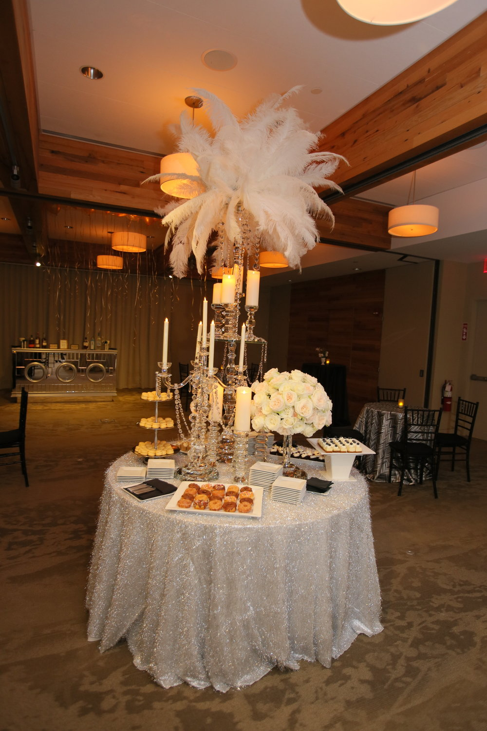 Sara Kovel Events Great Gatsby Engagement Party Catalyst Restaurant