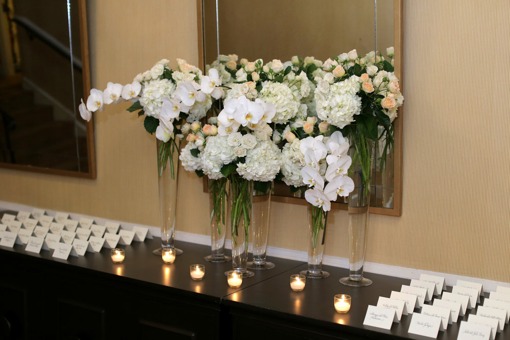 Sara Kovel Events Omni Parker House Escort Card Table