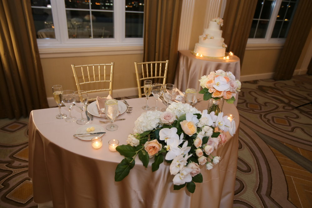 Sara Kovel Events Wedding Omni Parker House Sweetheart Table