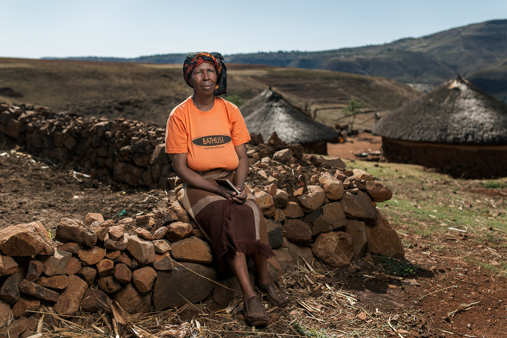 POPCAP_2016_Winner_1280px_RGB_54Matso Makone  - Widow of Molupe Makone - Butha Buthe, Lesotho - 51 years old - he worked in the mines for 33 years - Silicosis - no compensation.jpg