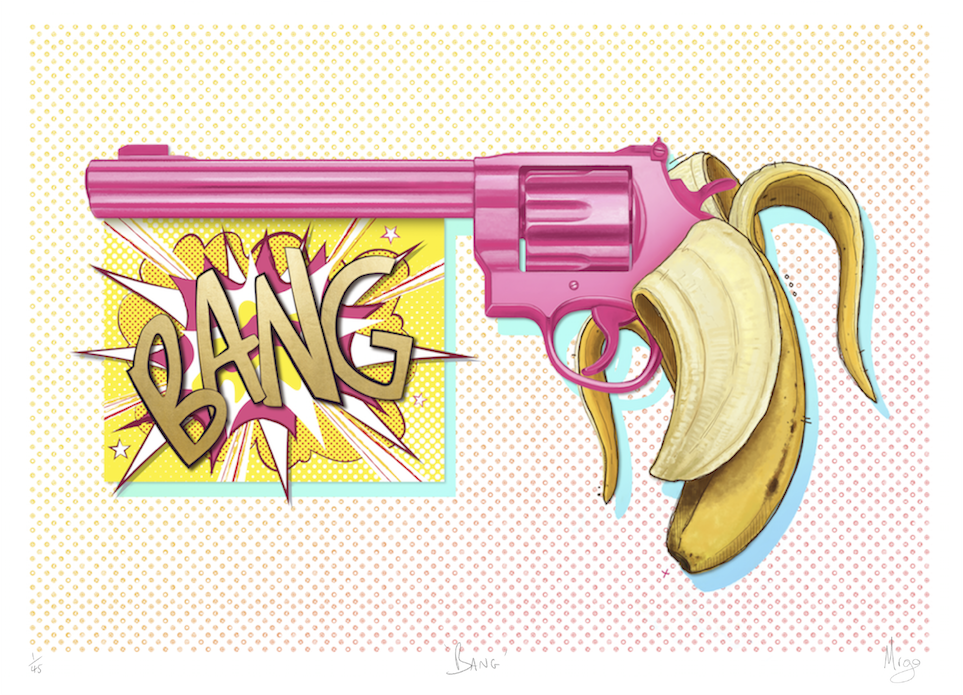 Mr Go - BANG Limited Edition Fine Art Print