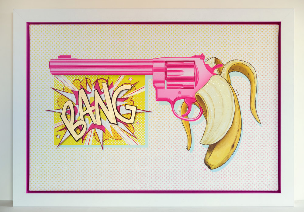 BANG - OriginalMr Go - BANG Limited Edition Fine Art Print