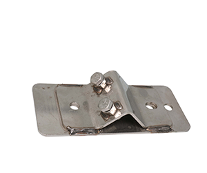 FASTENING BRACKETS & HARDWARE - Stainless steel and galvanized fastening brackets, U-bolts, clamps, wall mount elbows and water pipe clamps.