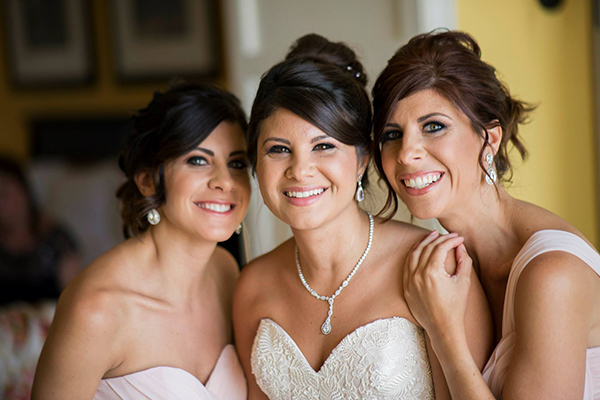 With my sisters, Christina & Nicole, at my wedding.