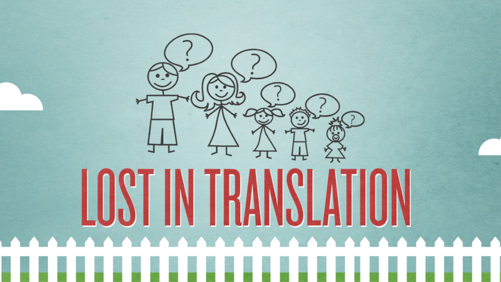 Current Series   Lost in Translation    Learn More