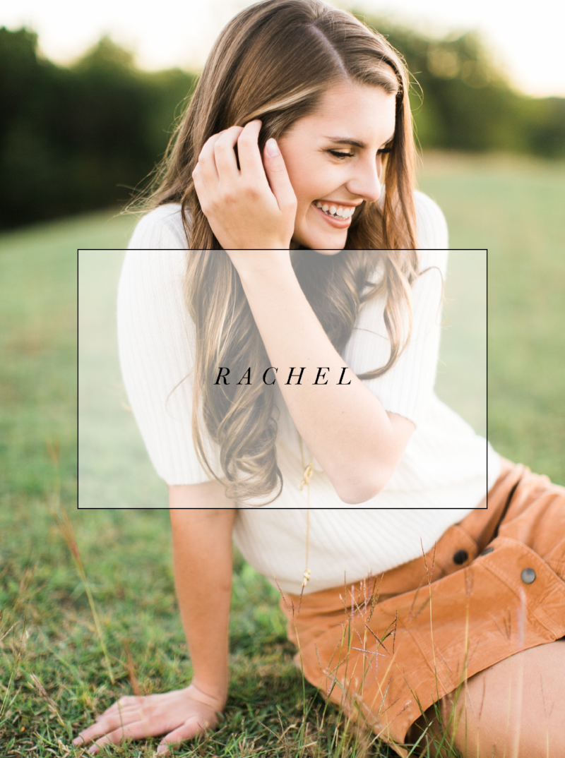 Rachel | Senior Photographer | Jessica Scott Photography