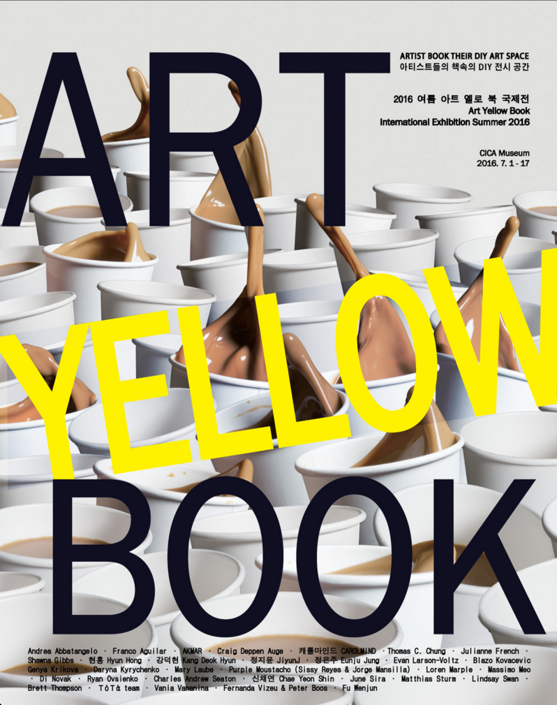 Art Yellowbook #2, CICA Museum, 2016
