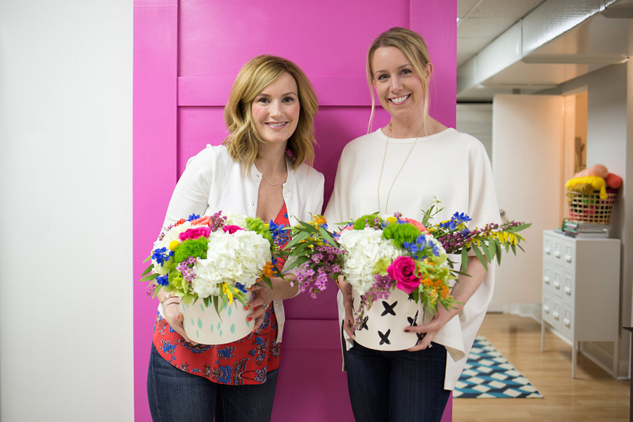 These gals are basically professional florists now!!