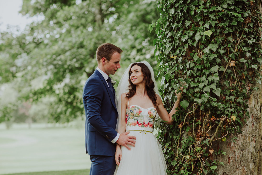 Summer Wedding at Faithlegg House