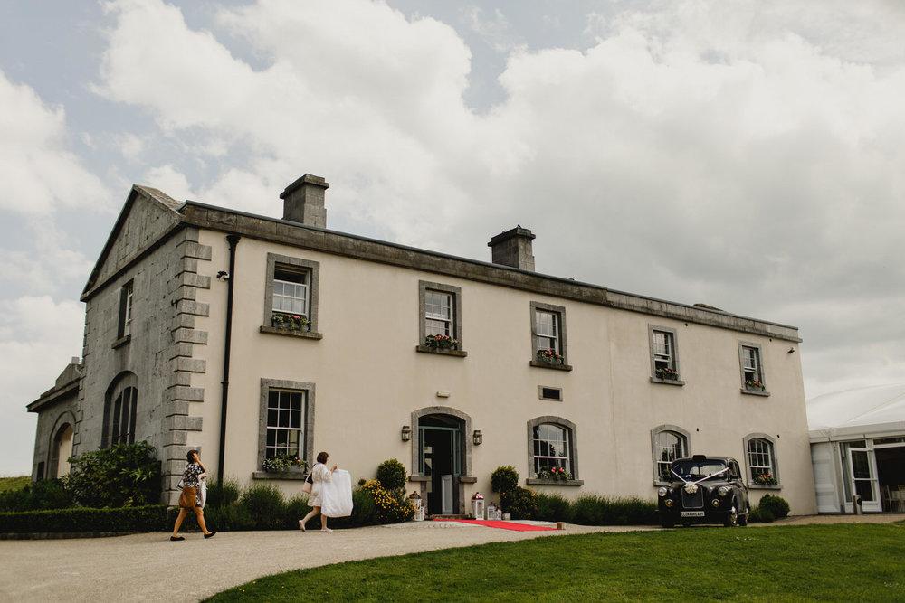 Clonabreany House Wedding