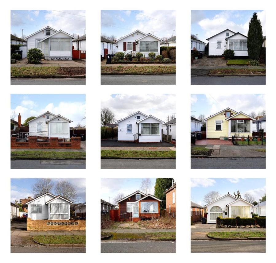 Austin Village homes, 2017-18. Photographs by Stephen Burke.