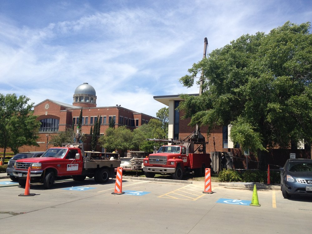Pump installation - Houston Baptist University