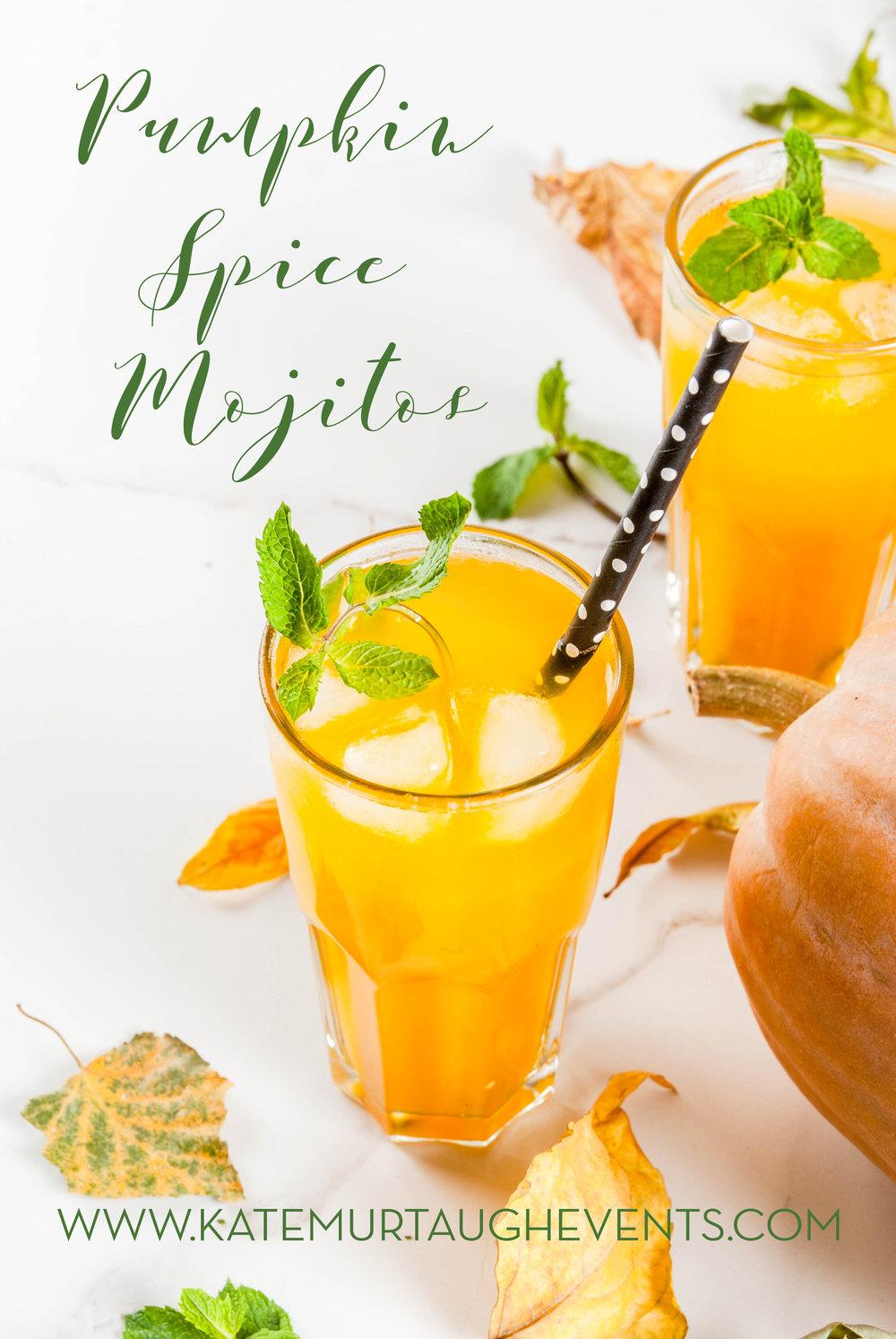 pumpkin spice mojito