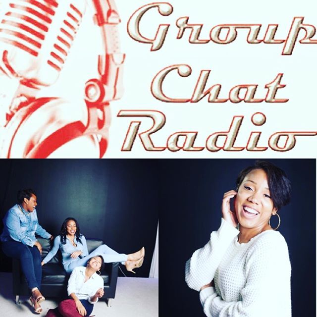 "Tonight is the night!! TONIGHT at 9PM EST • Tune into blis.fm/GroupChat/ & listen to the ladies of Group Chat discuss ""The Power of Money• You Don't Want To Miss This ! #Follow @groupchatradio @iam.aja and @arilawan_"