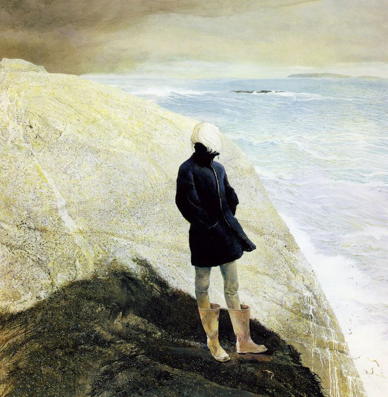 Andrew Wyeth, on the edge