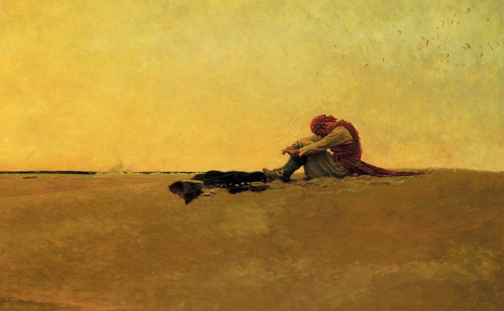 Howard Pyle, marooned, 1909