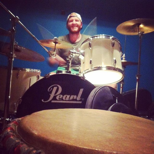 Everyone say hey to our drummer Kyle Watkins....he's cool 😎  #ire #TurnOn #shutupkyle #thecrew
