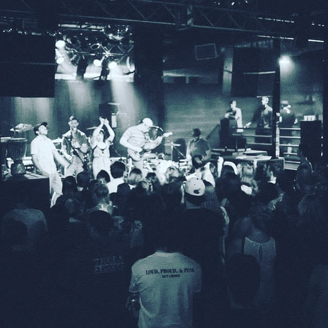 With The Masquerade in ATL opening at a new location, it's been an honor being able to play all the rooms at this Venue! Check out a pic from our last show on 5/8/16 w/ Sticky Fingers!  #irefam #themasquerade #heaven #hell #purgatory