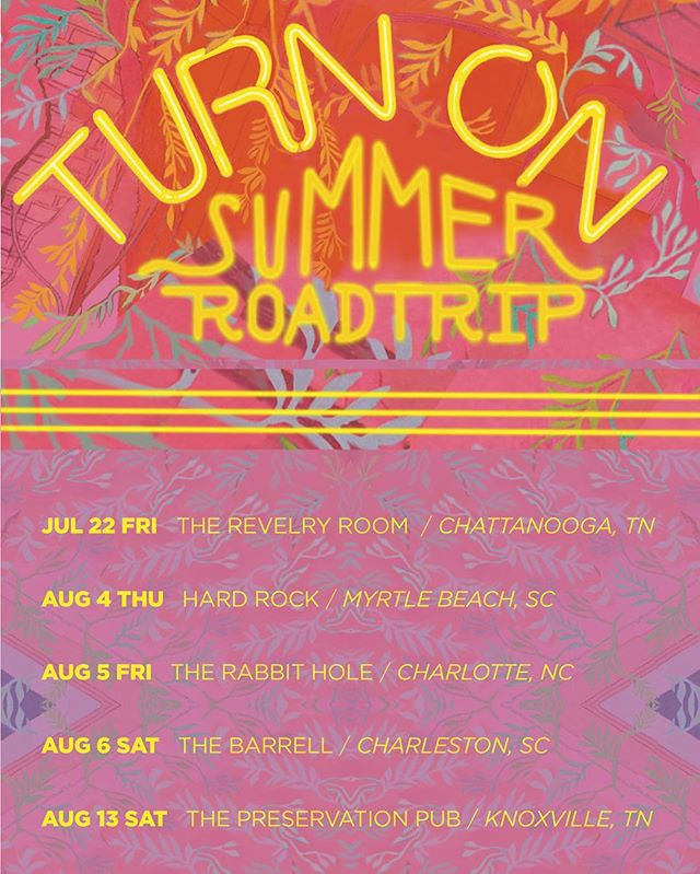 The I.R.E. Turn On Summer Road trip starts tonight in Chatt Town w/ @soulmechanicmusic!  #turnon #irefam #revelryroom #soulmechanic