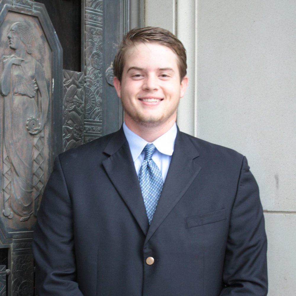 """Brad Harding '17 Hometown: Arlington, TX  Major: Petroleum Geology Involvement: Geology and Geophysics Society American Association of Petroleum Geologists Favorite Quote:""""You miss 100% of the shots you don't take"""" - Wayne Gretzky"""