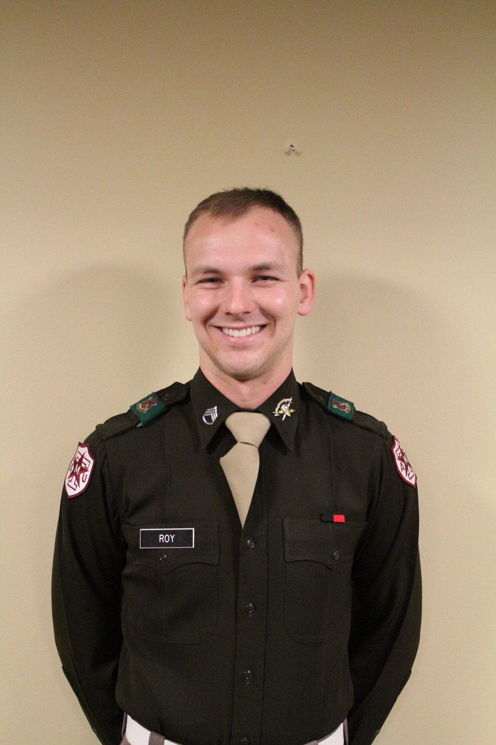 """Nicholas Roy '17    Hometown: Arlington, TX   Major: Agriculture Business   Involvement:  TAMU CFFA Corp of Cadets   Favorite Quote:  """" Those who labour in the earth are the chosen people of God..."""" Thomas Jefferson, Notes On Virginia (1785)"""