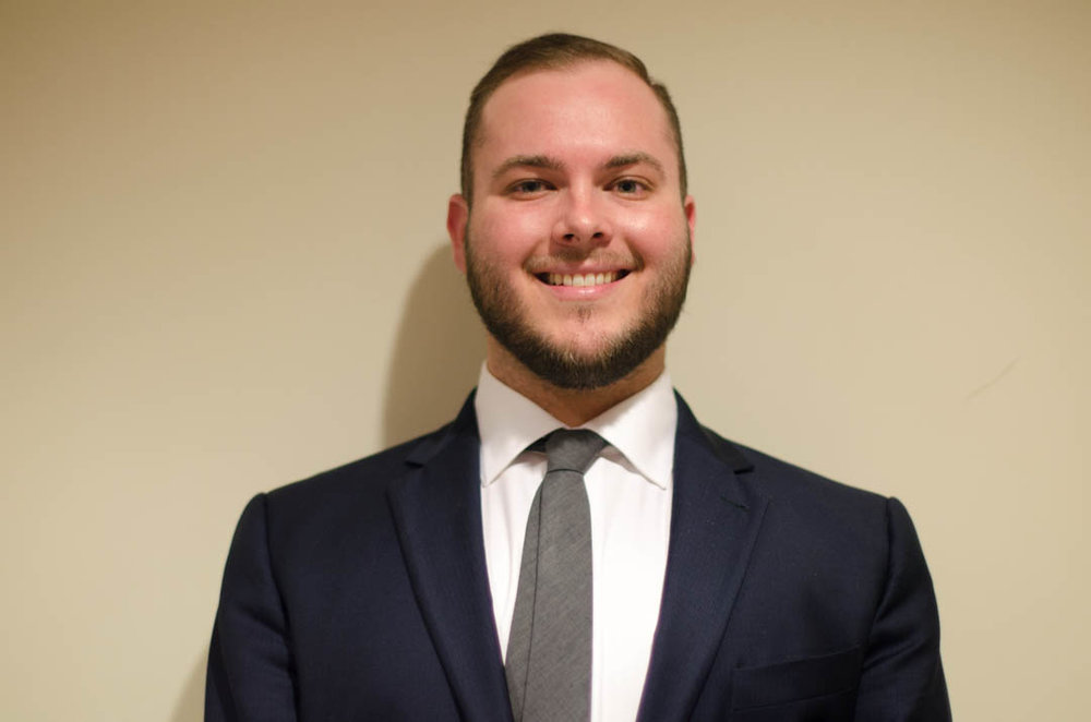 """Dillon Westrich '17    Hometown : Mckinney, TX            Major : Kinesiology   Involvement : Fish Camp Counselor   Favorite Quote : """"Don't tell people how to do things, tell them what to do and let them surprise you with their results."""" - General George S. Patton Jr."""
