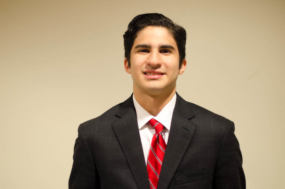 """Alberto Reyes-Marquez '17    Hometown : Euless, TX          Major : Mechanical Engineering   Involvement : Fish Camp Rec Sports and Facilities AOLP Carpool SHPE SAE National Institute of Sarcasm   Favorite Quote :""""Genius is 1% inspiration, 99% perspiration"""" -Thomas Edison"""