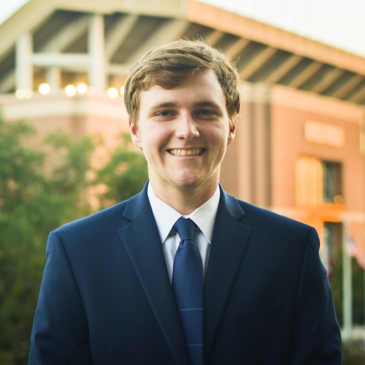 """Jake Roland '18    Hometown: Friendswood, TX   Major: Industrial Distribution   Involvement:  Professional Association for Industrial Distribution American Childhood Cancer Organization   Favorite Quote: """"Integrity is doing the right thing when no one else is looking"""" -Micheal Lindsay"""