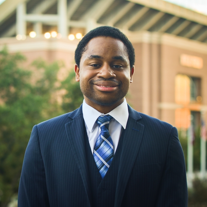 """D'Angelo Miller '19    Hometown: Austin, TX   Major: Telecommunication Media Studies   Involvement:  Progressively Leading Excellence in Professionalism (PREP) Mentor   Favorite Quote: It is always a mistake not to close one's eyes, whether to forgive or to look better into oneself"""" - Maurice Maeterlinck"""
