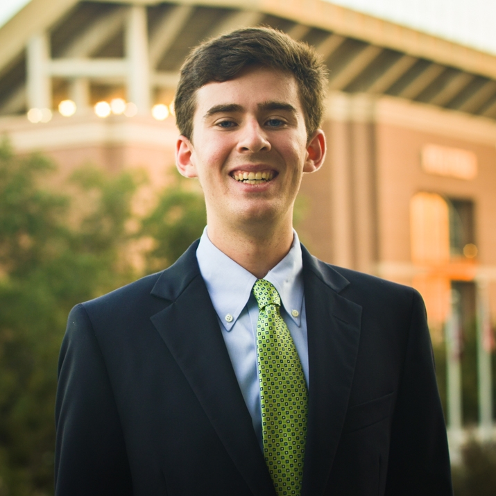 """Quinn McLean '19    Hometown: Houston, TX   Major: Finance   Involvement:  Reed Rowdies   Favorite Quote: """"I've failed over and over and over again in my life and that is why I succeed."""" - Micheal Jordan"""