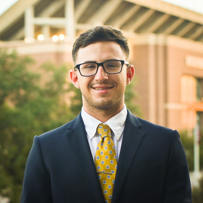 "Garrett Kelley '19    Hometown:  McKinney, TX   Major:  Industrial Distribution   Involvement:  Member of the Executive Team for Sports For Kids Professional Association for Industrial Distribution   Favorite Quote:  ""I call upon all nations to do everything they can to stop these terrorist killers. Thank you. Now watch this drive."" - President George W. Bush"