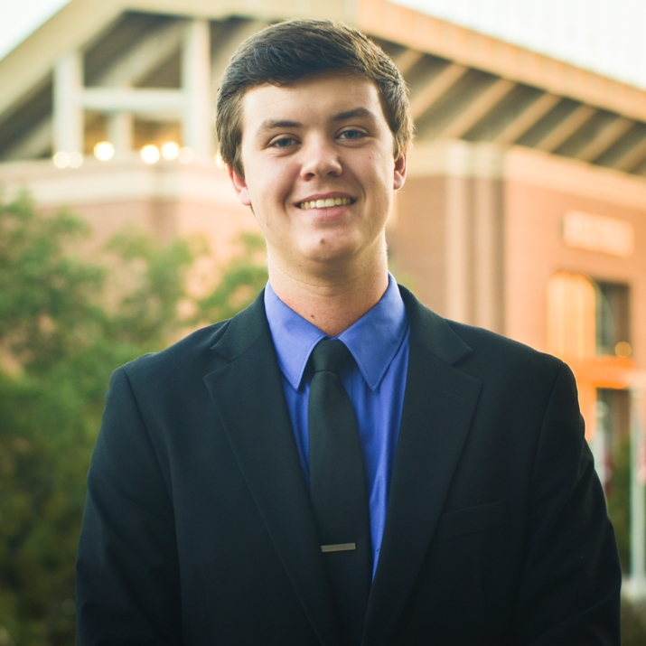 """Logan Miller '19    Hometown: Friendswood, TX   Major: Biomedical Engineering   Involvement:  ACCO CRU    Favorite Quote:  """"Your time is limited, so don't waste it living someone else's life."""" – Steve Jobs"""
