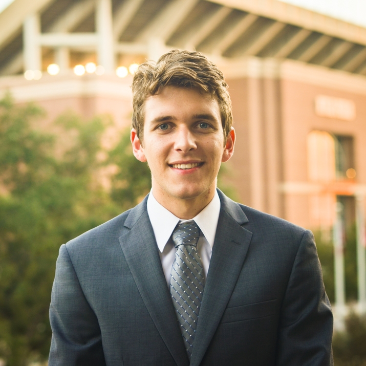 """Chase Reynolds '19    Hometown: Friendswood, TX   Major: General Engineering   Involvement:  CRU   Favorite Quote:  """"There are only two paths you can choose. You can sit quietly and be selected out of this world, or you can adapt and change"""""""