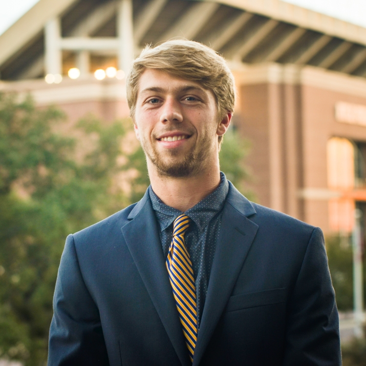 """Jake Cichy '19    Hometown: Frisco, TX   Major: Allied Health   Involvement:  Future Aggie Physician Assistant CRU A&M Boxing   Favorite Quote: """"To give anything less than your best is to sacrifice the gift"""" - Steve Prefontaine"""