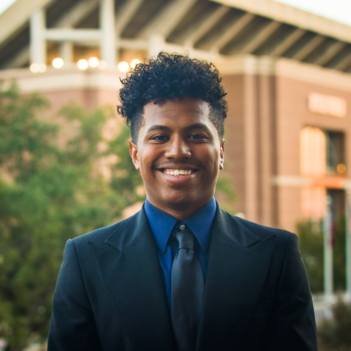 """MyKael McCorry '19 Hometown:Frisco, TX Major: Involvement: A&M boxing Favorite Quote: """"I have not failed, I have just found 10,000 ways that won't work"""" -Thomas Edison"""