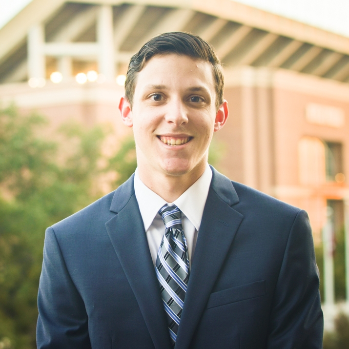 """Joey Sallman '19     Hometown: Sugar Land, TX    Major: Agricultural Economics    Involvement:  Paradigm    Favorite Quote: """"What you lack in talent can be made up with desire, hustle and giving 110% all the time.""""- Don Zimmer"""