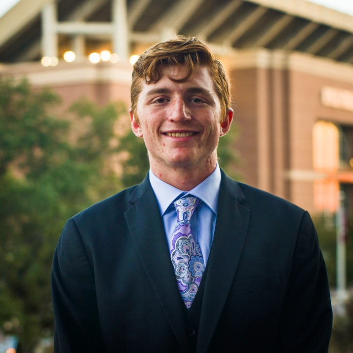 """Bryan Bayliss '20    Hometown: College Station, TX   Major:    Involvement:  SLAM Fish Camp   Favorite Quote: """"How would I describe myself? Three words: hardworking, alpha male, jackhammer, merciless, insatiable."""" -Dwight K. Schrute"""