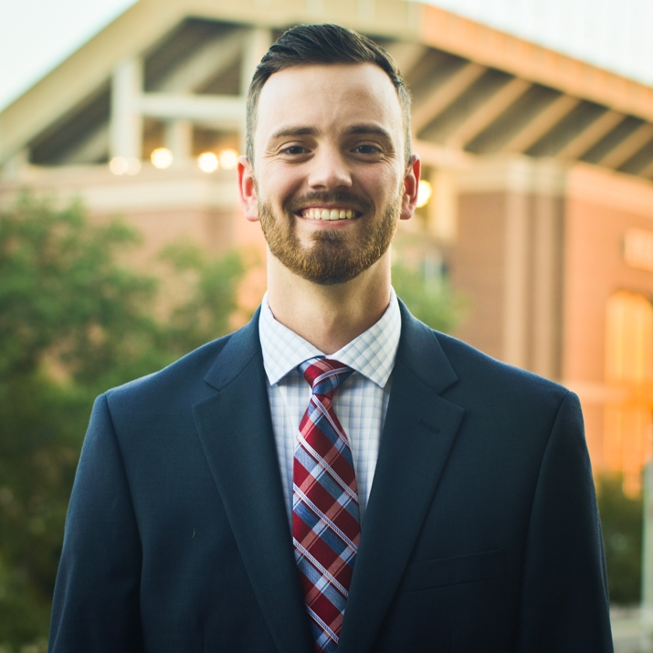 """Stephen Halbert '19 Hometown: Rusk, TX Major: Aerospace Engineering Involvement: AIAA Student Veterans Association Design/Build/Fly (DBF) Aggie Aerospace Women in Engineering (AAWE) Favorite Quote:""""Success is how high you bounce when you hit the bottom"""" - Gen. George S. Patton Jr."""