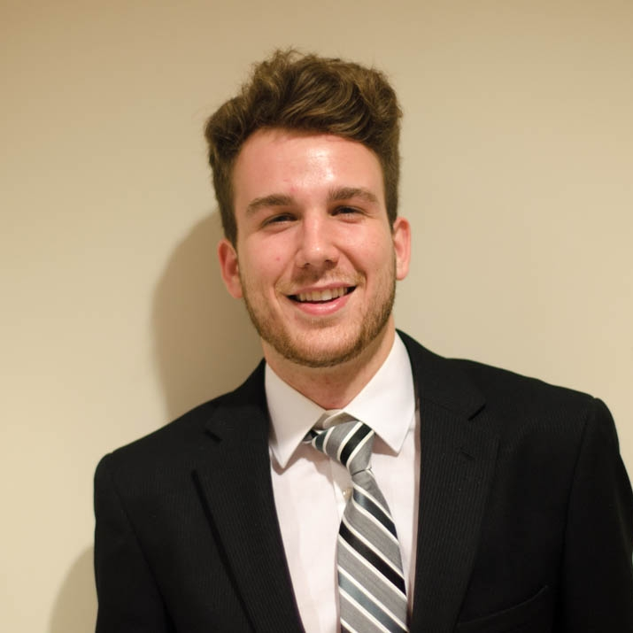 """Luke Maher '19 Hometown:Sherman, TX Major:English and Communication Involvement: Student sports writer for the Battalion newspaper Big mentor for Aggie Fish Club Favorite Quote:""""I never ask people to judge me on my winners, I ask them to judge me on my losers because I have so few"""" - Jordan Belfort"""