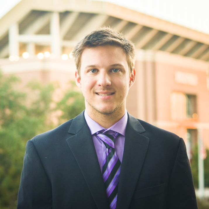 "Matt Gill '17    Hometown : Fulshear, TX               Major : Computer Engineering   Involvement :  Fish Camp Impact Paradigm Founder   Favorite Quote :  ""An entire sea of water can't sink a ship unless it gets inside the ship. Similarly, the negativity of the world can't put you down unless you allow it to get inside you."" -Goi Nasu"