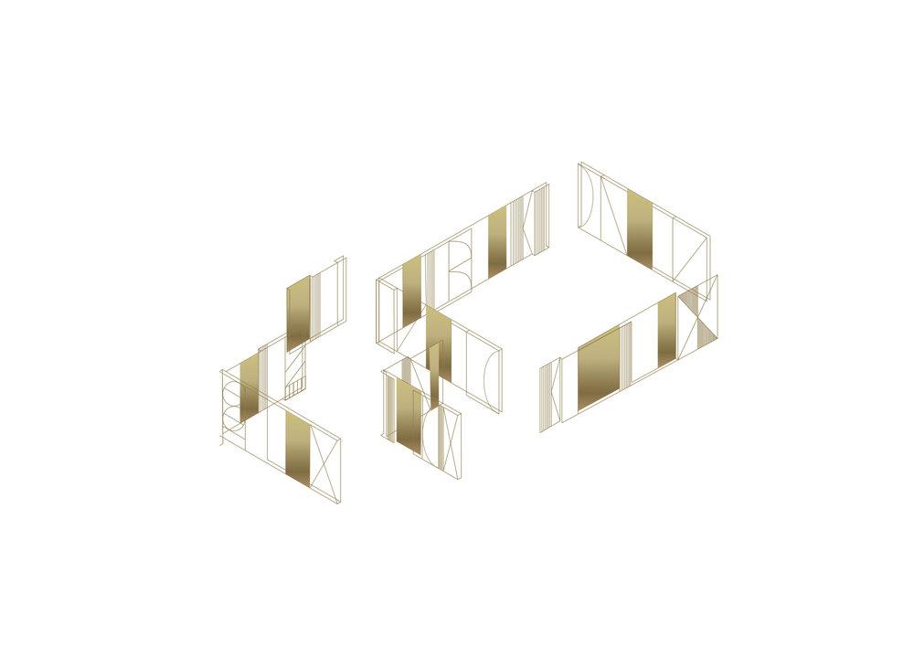 Exhibition Design | Molteni&C | Dada | Competition - design proposal | Bologna (IT)