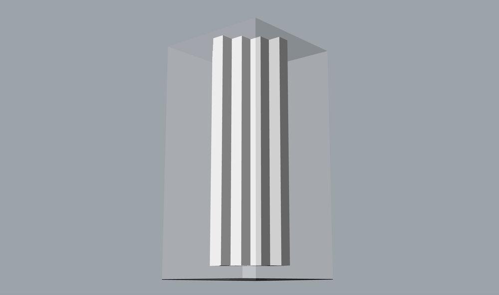 Product Design |Architectural fantasies - sculptural vases series | London (UK)